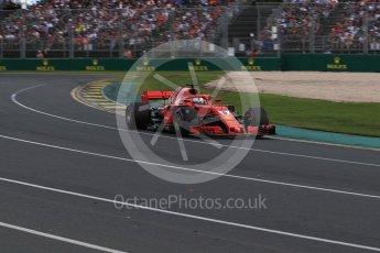 World © Octane Photographic Ltd. Formula 1 – Australian GP - Race. Scuderia Ferrari SF71-H – Sebastian Vettel. Albert Park, Melbourne, Australia. Sunday 25th March 2018.