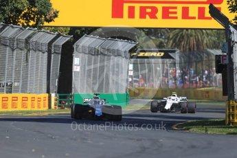 World © Octane Photographic Ltd. Formula 1 – Australian GP - Friday Practice 1. Williams Martini Racing FW41 – Lance Stroll. Albert Park, Melbourne, Australia. Friday 23rd March 2018.