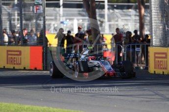 World © Octane Photographic Ltd. Formula 1 – Australian GP - Friday Practice 2. Haas F1 Team VF-18 – Kevin Magnussen. Albert Park, Melbourne, Australia. Friday 23rd March 2018.