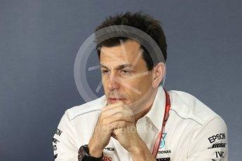 World © Octane Photographic Ltd. Formula 1 - Australian GP - Friday - Team Press Conference. Toto Wolff - Executive Director & Head of Mercedes-Benz Motorsport. Albert Park, Melbourne, Australia. Friday 23rd March 2018.