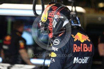 World © Octane Photographic Ltd. Formula 1 – Australian GP - Practice 3. Aston Martin Red Bull Racing TAG Heuer RB14 – Max Verstappen. Albert Park, Melbourne, Australia. Saturday 24th March 2018.