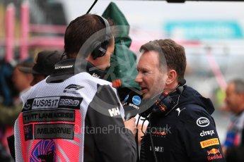World © Octane Photographic Ltd. Formula 1 - Australian GP - Practice 3. Christian Horner - Team Principal of Red Bull Racing. Albert Park, Melbourne, Australia. Saturday 24th March 2018.