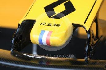 World © Octane Photographic Ltd. Formula 1 – Australian GP - Practice 3. Renault Sport F1 Team RS18. Albert Park, Melbourne, Australia. Saturday 24th March 2018.