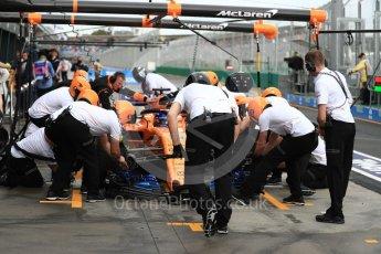 World © Octane Photographic Ltd. Formula 1 – Australian GP - Practice 3. McLaren MCL33 – Fernando Alonso. Albert Park, Melbourne, Australia. Saturday 24th March 2018.