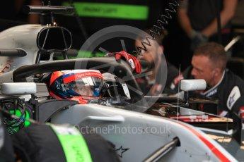 World © Octane Photographic Ltd. Formula 1 – Australian GP - Practice 3. Haas F1 Team VF-18 – Romain Grosjean. Albert Park, Melbourne, Australia. Saturday 24th March 2018.