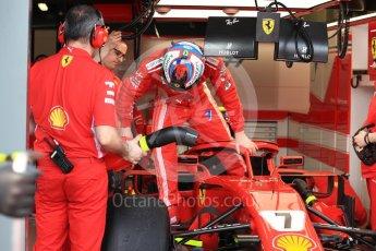 World © Octane Photographic Ltd. Formula 1 – Australian GP - Practice 3. Scuderia Ferrari SF71-H – Kimi Raikkonen. Albert Park, Melbourne, Australia. Saturday 24th March 2018.