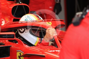 World © Octane Photographic Ltd. Formula 1 – Australian GP - Practice 3. Scuderia Ferrari SF71-H – Sebastian Vettel. Albert Park, Melbourne, Australia. Saturday 24th March 2018.