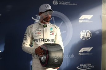 World © Octane Photographic Ltd. Formula 1 – Australian GP - Qualifying. Mercedes AMG Petronas Motorsport AMG F1 W09 EQ Power+ - Lewis Hamilton. Albert Park, Melbourne, Australia. Saturday 24th March 2018.
