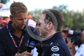 World © Octane Photographic Ltd. Formula 1 - Australian GP - Melbourne Walk 3. Christian Horner - Team Principal of Red Bull Racing. Albert Park, Melbourne, Australia. Sunday 25th March 2018.
