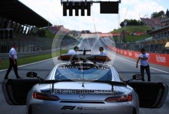 World © Octane Photographic Ltd. Formula 1 – Austrian GP - Grid. View to Turn 1. Red Bull Ring, Spielberg, Austria. Sunday 1st July 2018.