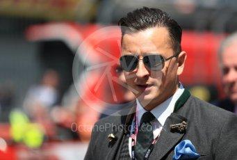 World © Octane Photographic Ltd. Formula 1 – Austrian GP - Grid. VIP. Red Bull Ring, Spielberg, Austria. Sunday 1st July 2018.