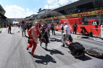 World © Octane Photographic Ltd. Formula 1 – Austrian GP - Grid. Red Bull Ring, Spielberg, Austria. Sunday 1st July 2018.