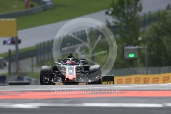 World © Octane Photographic Ltd. Formula 1 – Austrian GP - Practice 1. Haas F1 Team VF-18 – Romain Grosjean. Red Bull Ring, Spielberg, Austria. Friday 29th June 2018.