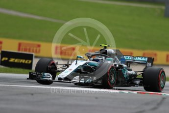 World © Octane Photographic Ltd. Formula 1 – Austrian GP - Practice 1. Mercedes AMG Petronas Motorsport AMG F1 W09 EQ Power+ - Valtteri Bottas. Red Bull Ring, Spielberg, Austria. Friday 29th June 2018.