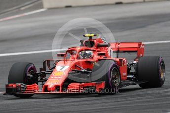 World © Octane Photographic Ltd. Formula 1 – Austrian GP - Practice 1. Scuderia Ferrari SF71-H – Kimi Raikkonen. Red Bull Ring, Spielberg, Austria. Friday 29th June 2018.