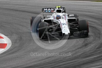 World © Octane Photographic Ltd. Formula 1 – Austrian GP - Practice 2. Williams Martini Racing FW41 – Sergey Sirotkin. Red Bull Ring, Spielberg, Austria. Friday 29th June 2018.