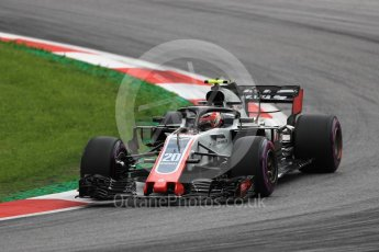 World © Octane Photographic Ltd. Formula 1 – Austrian GP - Practice 2. Haas F1 Team VF-18 – Kevin Magnussen. Red Bull Ring, Spielberg, Austria. Friday 29th June 2018.