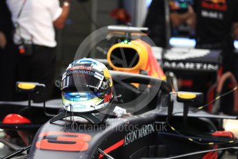 World © Octane Photographic Ltd. Formula 1 – Austrian GP - Practice 3. Aston Martin Red Bull Racing TAG Heuer RB14 – Daniel Ricciardo. Red Bull Ring, Spielberg, Austria. Saturday 30th June 2018.
