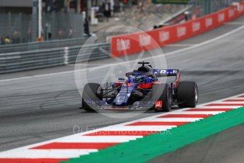 World © Octane Photographic Ltd. Formula 1 – Austrian GP - Qualifying. Scuderia Toro Rosso STR13 – Brendon Hartley. Red Bull Ring, Spielberg, Austria. Saturday 30th June 2018.