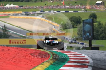 World © Octane Photographic Ltd. Formula 1 – Austrian GP - Qualifying. Williams Martini Racing FW41 – Sergey Sirotkin. Red Bull Ring, Spielberg, Austria. Saturday 30th June 2018.