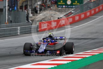 World © Octane Photographic Ltd. Formula 1 – Austrian GP - Qualifying. Scuderia Toro Rosso STR13 – Pierre Gasly. Red Bull Ring, Spielberg, Austria. Saturday 30th June 2018.