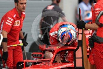 World © Octane Photographic Ltd. Formula 1 – Austrian GP - Qualifying. Scuderia Ferrari SF71-H – Kimi Raikkonen. Red Bull Ring, Spielberg, Austria. Saturday 30th June 2018.