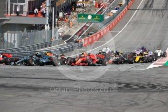 World © Octane Photographic Ltd. Formula 1 – Austrian GP - Race. Scuderia Ferrari SF71-H – Sebastian Vettel. Red Bull Ring, Spielberg, Austria. Sunday 1st July 2018.