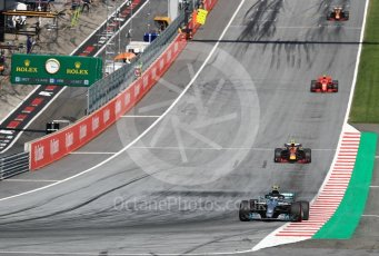 World © Octane Photographic Ltd. Formula 1 – Austrian GP - Race. Mercedes AMG Petronas Motorsport AMG F1 W09 EQ Power+ - Valtteri Bottas. Red Bull Ring, Spielberg, Austria. Sunday 1st July 2018.