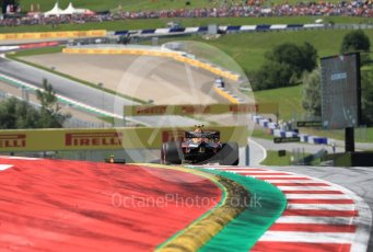 World © Octane Photographic Ltd. Formula 1 – Austrian GP - Race. Aston Martin Red Bull Racing TAG Heuer RB14 – Max Verstappen. Red Bull Ring, Spielberg, Austria. Sunday 1st July 2018.