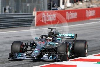 World © Octane Photographic Ltd. Formula 1 – Austrian GP - Race. Mercedes AMG Petronas Motorsport AMG F1 W09 EQ Power+ - Lewis Hamilton. Red Bull Ring, Spielberg, Austria. Sunday 1st July 2018.