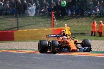 World © Octane Photographic Ltd. Formula 1 – Belgian GP - Practice 1. McLaren MCL33 – Stoffel Vandoorne. Spa-Francorchamps, Belgium. Friday 24th August 2018.