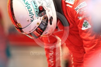 World © Octane Photographic Ltd. Formula 1 – Belgian GP - Practice 3. Scuderia Ferrari SF71-H – Sebastian Vettel. Spa-Francorchamps, Belgium. Saturday 25th August 2018.