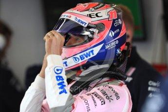 World © Octane Photographic Ltd. Formula 1 – Belgian GP - Practice 3. Racing Point Force India VJM11 - Sergio Perez. Spa-Francorchamps, Belgium. Saturday 25th August 2018.