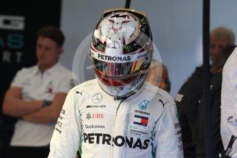 World © Octane Photographic Ltd. Formula 1 – Belgian GP - Practice 3. Mercedes AMG Petronas Motorsport AMG F1 W09 EQ Power+ - Lewis Hamilton. Spa-Francorchamps, Belgium. Saturday 25th August 2018.