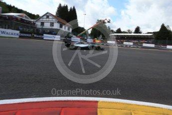 World © Octane Photographic Ltd. Formula 1 – Belgian GP - Qualifying. Mercedes AMG Petronas Motorsport AMG F1 W09 EQ Power+ - Lewis Hamilton. Spa-Francorchamps, Belgium. Saturday 25th August 2018.