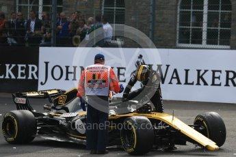 World © Octane Photographic Ltd. Formula 1 – Belgian GP - Race. Renault Sport F1 Team RS18 – Nico Hulkenberg retires. Spa-Francorchamps, Belgium. Sunday 26th August 2018.