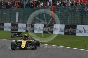 World © Octane Photographic Ltd. Formula 1 – Belgian GP - Race. Renault Sport F1 Team RS18 – Carlos Sainz. Spa-Francorchamps, Belgium. Sunday 26th August 2018.
