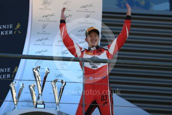 World © Octane Photographic Ltd. GP3 – Belgian GP – Race 2. ART Grand Prix - Nikita Mazepin. Spa Francorchamps, Belgium. Sunday 26th August 2018.