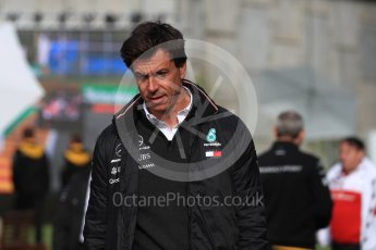 World © Octane Photographic Ltd. Formula 1 - Belgian GP - Paddock. Toto Wolff - Executive Director & Head of Mercedes-Benz Motorsport. Spa-Francorchamps, Belgium. Saturday 25th August 2018.