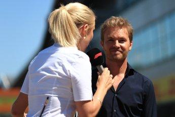 World © Octane Photographic Ltd. Formula 1 – British GP - Drivers' Parade. Nico Rosberg. Silverstone Circuit, Towcester, UK. Sunday 8th July 2018.