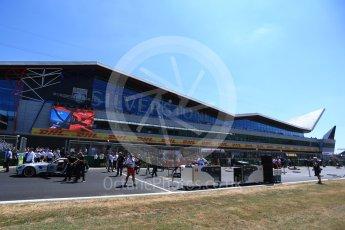 World © Octane Photographic Ltd. Formula 1 – British GP - Grid. Silverstone Circuit, Towcester, UK. Sunday 8th July 2018.