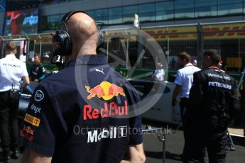 World © Octane Photographic Ltd. Formula 1 - British GP - Grid. Adrian Newey - Chief Technical Officer of Red Bull Racing. Silverstone Circuit, Towcester, UK. Sunday 8th July 2018.