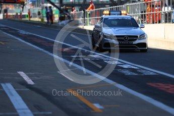 World © Octane Photographic Ltd. Formula 1 - British GP - Practice 3. Mercedes AMC E63 Estate Medical car Silverstone Circuit, Towcester, UK. Saturday7th July 2018.