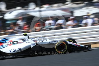 World © Octane Photographic Ltd. Formula 1 – British GP - Qualifying. Williams Martini Racing FW41 – Sergey Sirotkin. Silverstone Circuit, Towcester, UK. Saturday 7th July 2018.