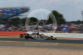 World © Octane Photographic Ltd. Formula 1 – British GP - Qualifying. Renault Sport F1 Team RS18 – Nico Hulkenberg. Silverstone Circuit, Towcester, UK. Saturday 7th July 2018.