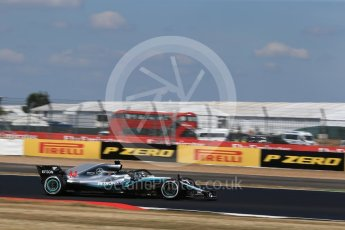 World © Octane Photographic Ltd. Formula 1 – British GP - Qualifying. Mercedes AMG Petronas Motorsport AMG F1 W09 EQ Power+ - Lewis Hamilton. Silverstone Circuit, Towcester, UK. Saturday 7th July 2018.