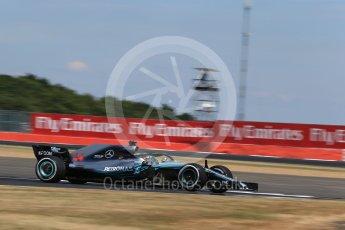 World © Octane Photographic Ltd. Formula 1 – British GP - Qualifying. Mercedes AMG Petronas Motorsport AMG F1 W09 EQ Power+ - Lewis Hamilton. Silverstone Circuit, Towcester, UK. Saturday 7th July 2018.