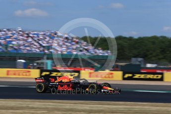 World © Octane Photographic Ltd. Formula 1 – British GP - Qualifying. Aston Martin Red Bull Racing TAG Heuer RB14 – Daniel Ricciardo. Silverstone Circuit, Towcester, UK. Saturday 7th July 2018.