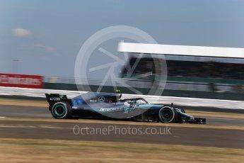 World © Octane Photographic Ltd. Formula 1 – British GP - Qualifying. Mercedes AMG Petronas Motorsport AMG F1 W09 EQ Power+ - Valtteri Bottas. Silverstone Circuit, Towcester, UK. Saturday 7th July 2018.