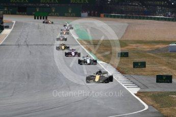 World © Octane Photographic Ltd. Formula 1 – British GP - Race. Renault Sport F1 Team RS18 – Nico Hulkenberg. Silverstone Circuit, Towcester, UK. Sunday 8th July 2018.